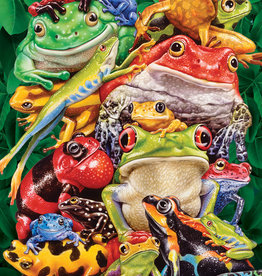Cobble Hill Frog Business 1000pc (Modular Box)