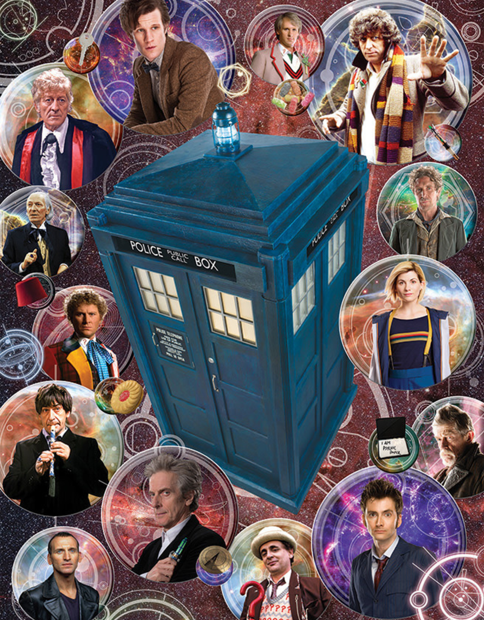 Cobble Hill Doctor Who: The Doctors 1000pc
