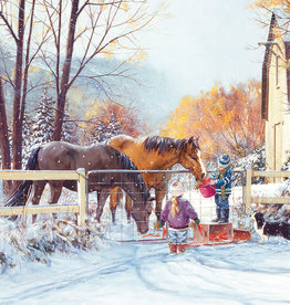 Cobble Hill First Snow 275pc