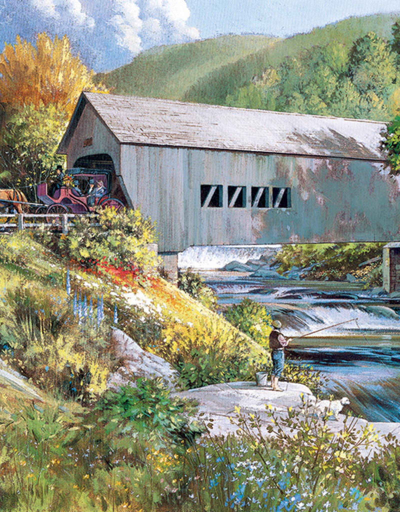 Cobble Hill Covered Bridge 275pc