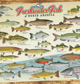 Cobble Hill Freshwater Fish of North America 1000pc