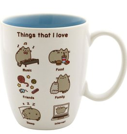 Our Name is Mud Pusheen Mug - Things I Love