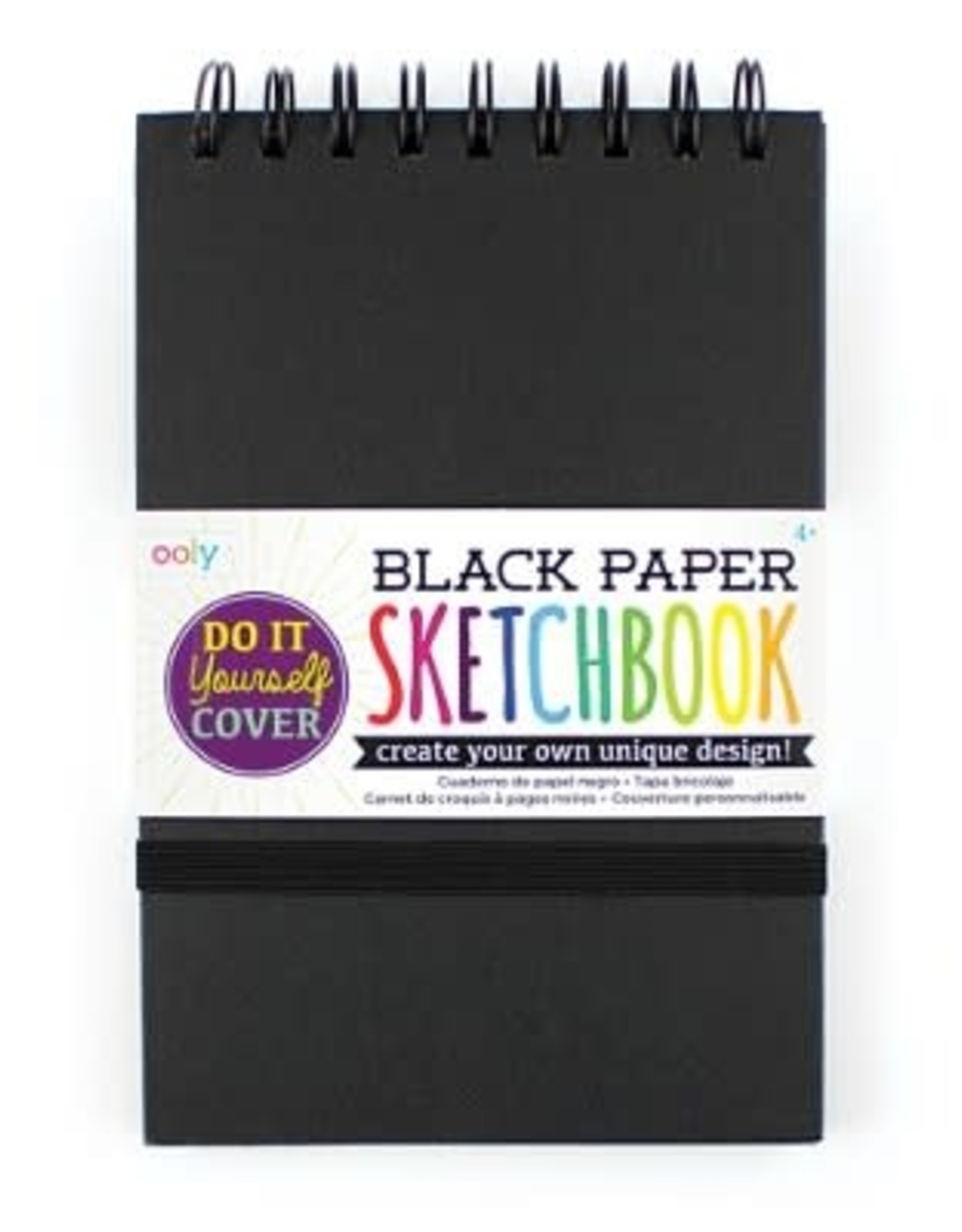 OOLY DIY SKETCHBOOK - SMALL - BLACK