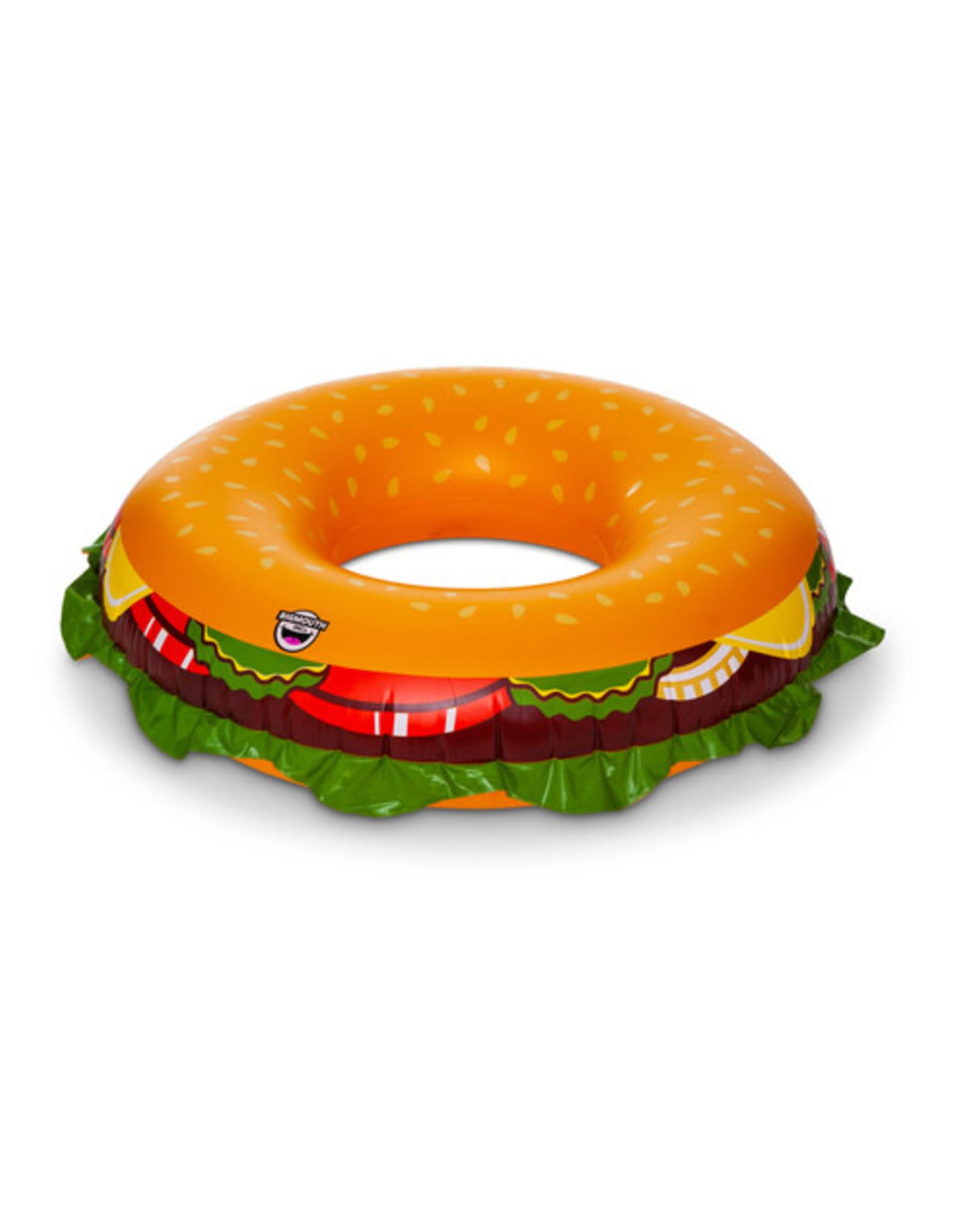 BigMouth Summer Cheeseburger Pool Float