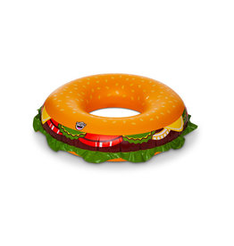 BigMouth Summer Cheeseburger Pool Float
