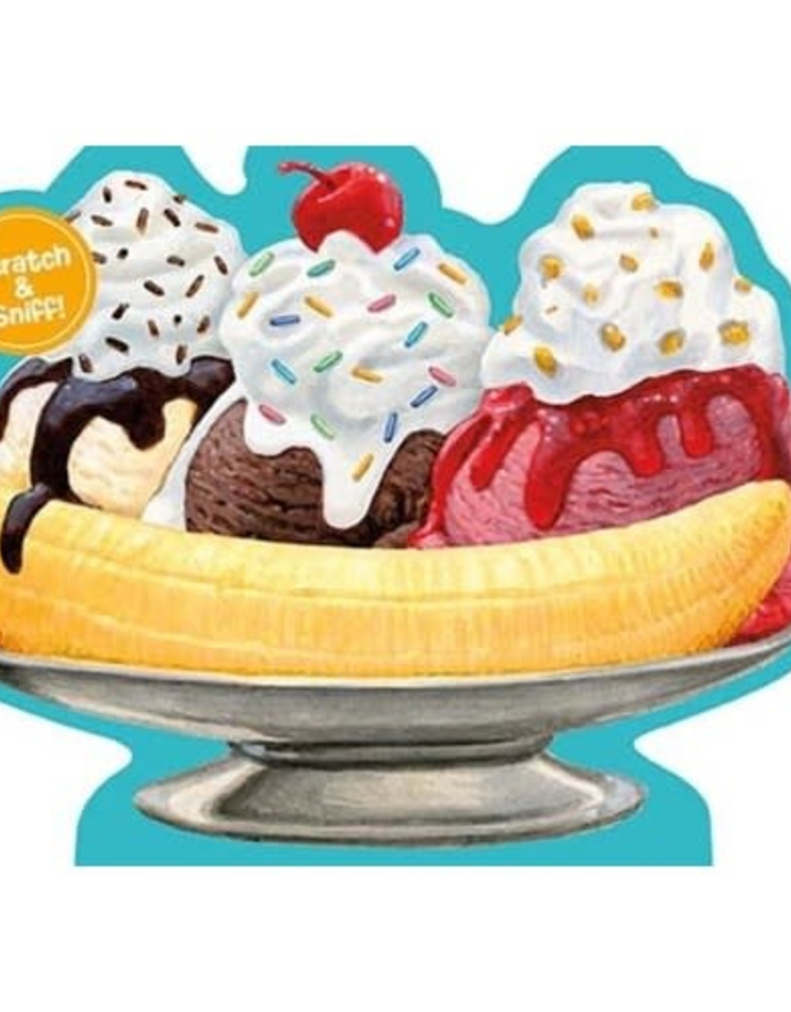 Peaceable Kingdom Banana Split Scratch & Sniff