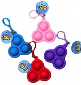 Crazy Snap Keychain (Assorted)