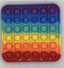 Push 'n' Pop Push N' Pop Square Rainbow/Solid (Asst)