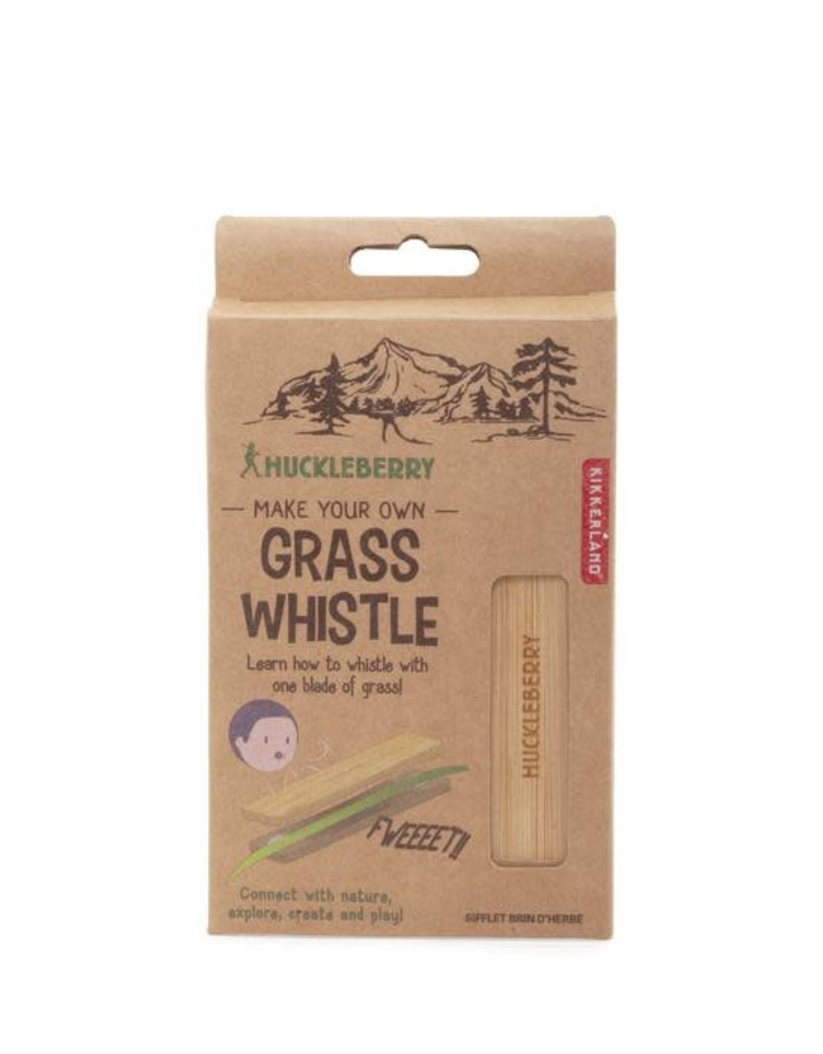 Kikkerland Huckleberry Grass Whistle
