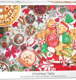 Eurographics Christmas Table 1000pc