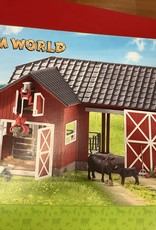 LTP Farm World- Large Red Barn