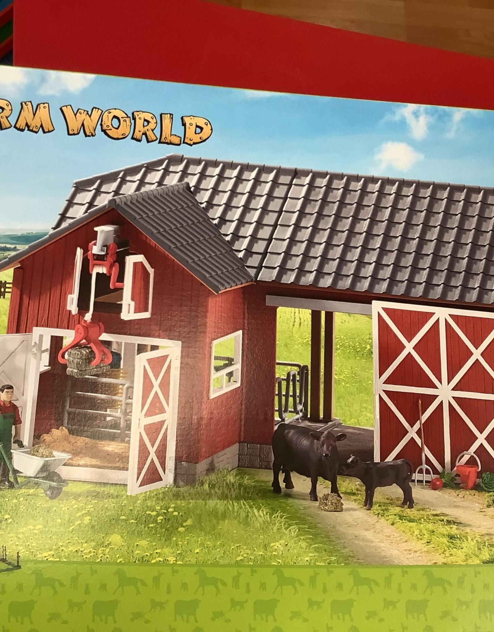 LTP Farm World- Large Red Barn