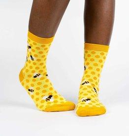 Sock It To Me Junior Crew: Bee's Knees