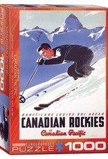 Eurographics Banff Lake Louise Ski Areas 1000pc