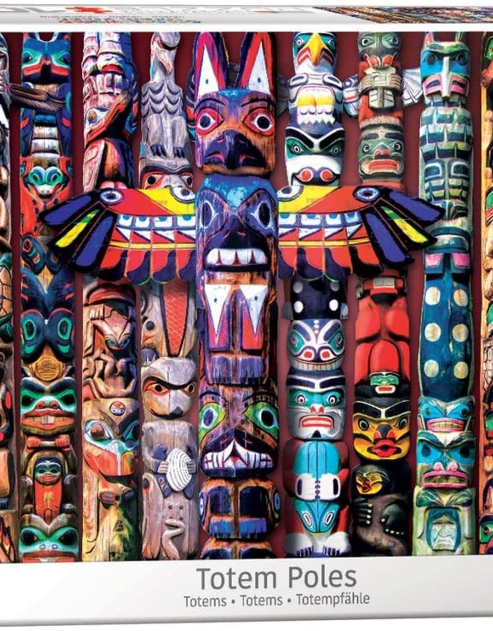 Eurographics Canadian Totem Poles 1000pc
