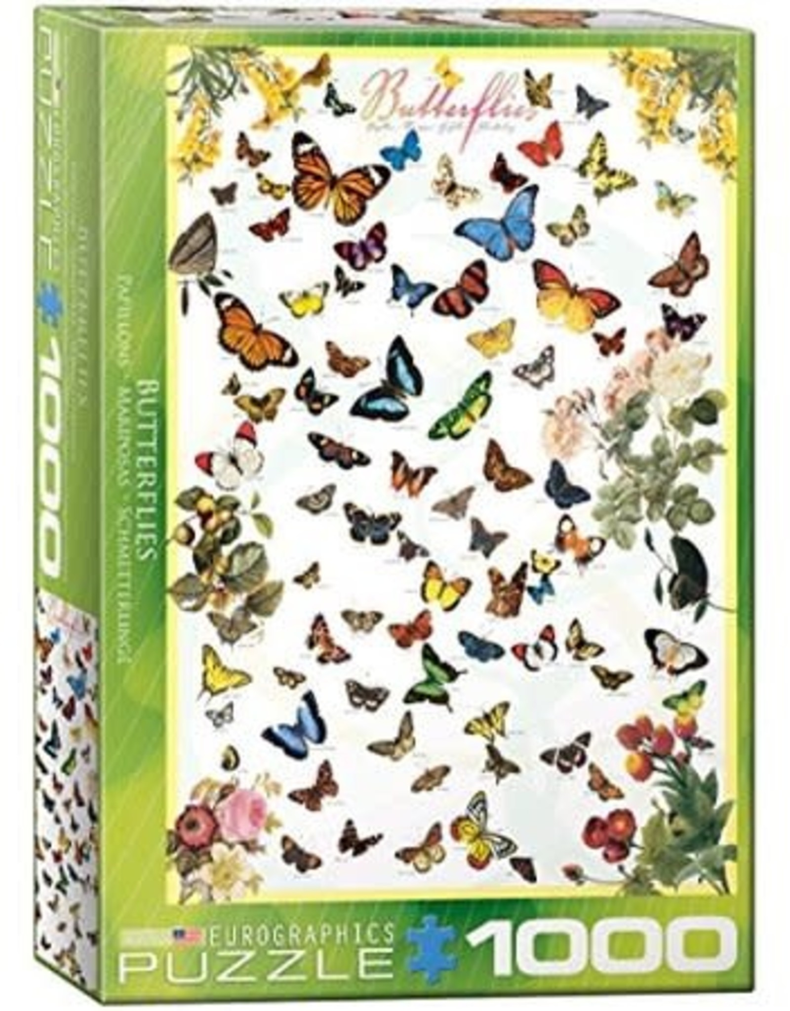 Eurographics Butterflies 1000pc