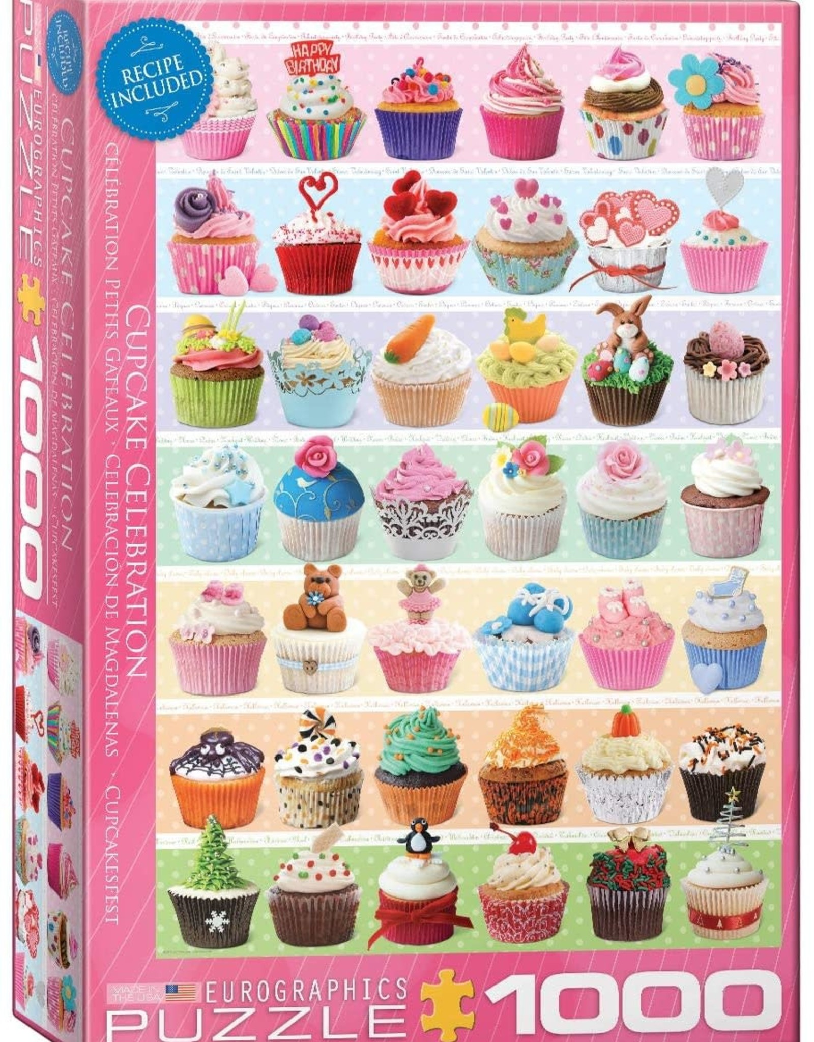 Eurographics Cupcake Celebration 1000pc