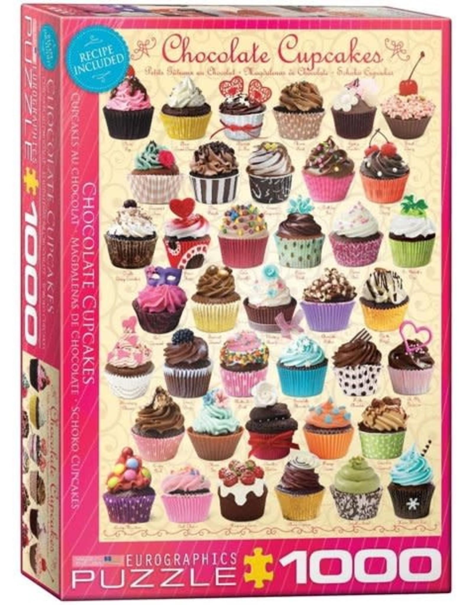 Eurographics Chocolate Cupcakes 1000pc