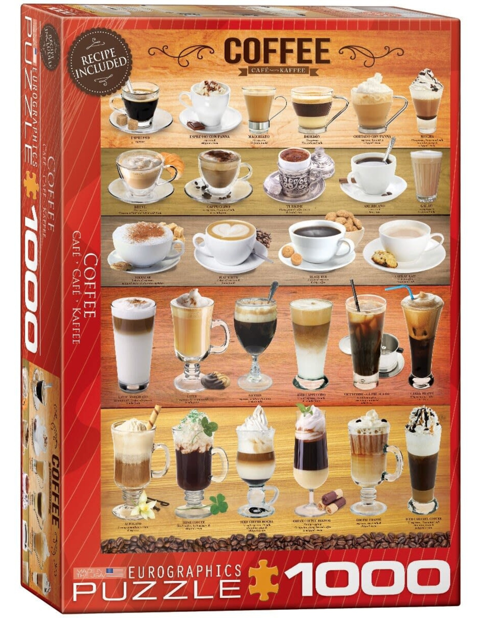 Eurographics Coffee 1000pc