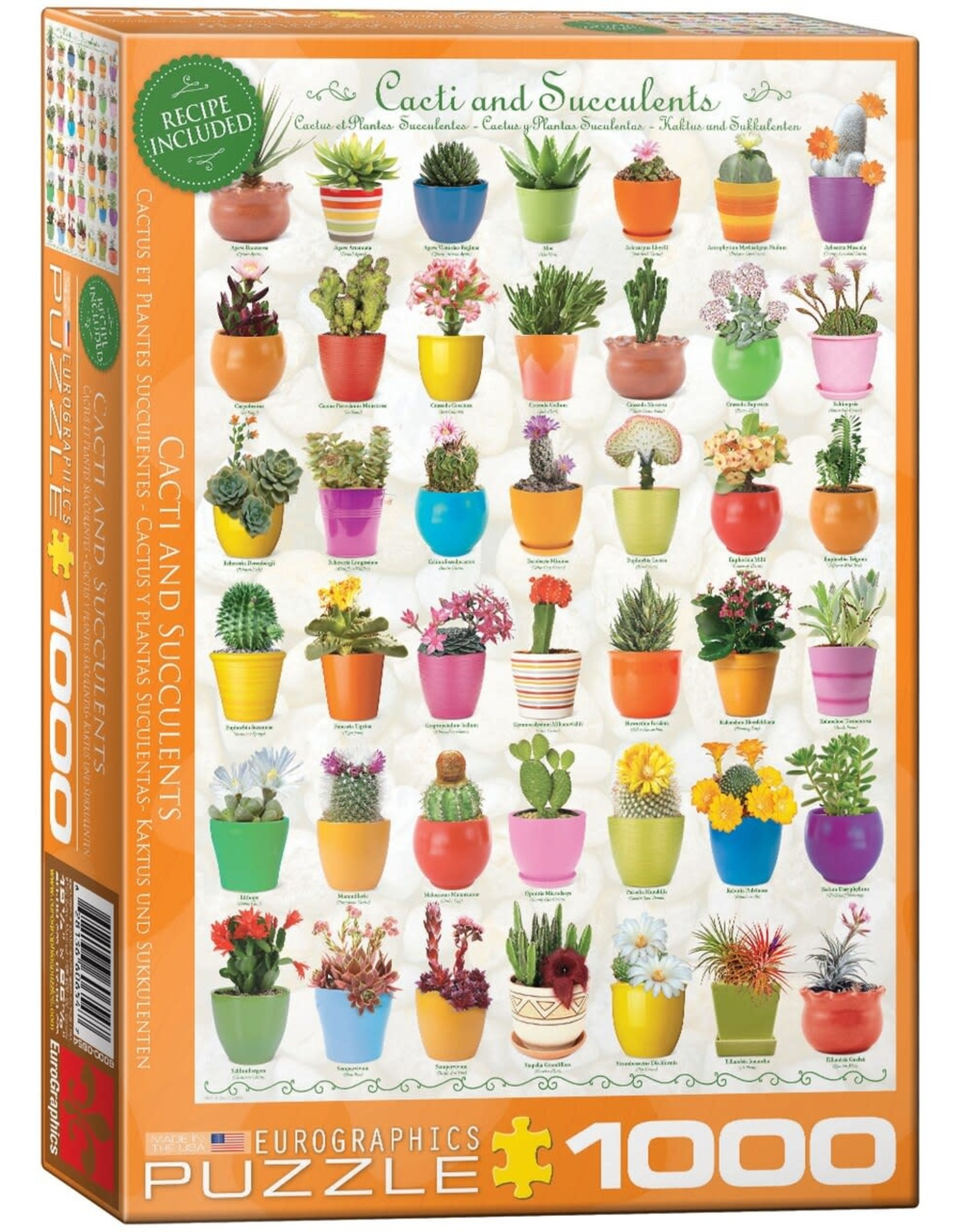 Eurographics Cacti & Succulents 1000pc