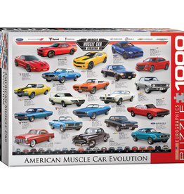 Eurographics American Muscle Car Evolution 1000pc