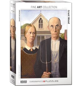 Eurographics American Gothic by Grant Wood 1000pc