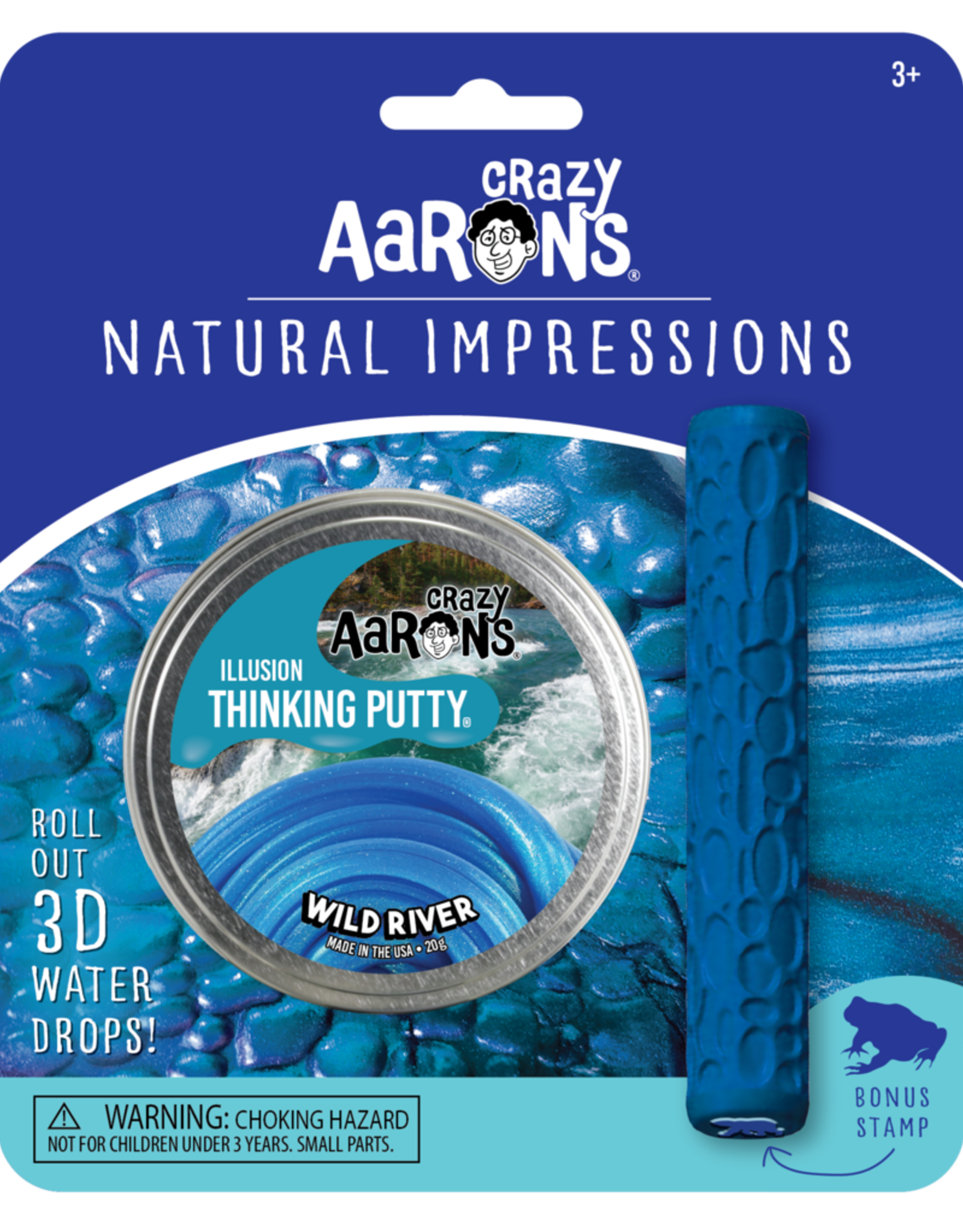 Crazy Aaron's Thinking Putty Crazy Aaron's Natural Impressions Tin & Stamp Sets