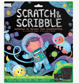 OOLY SCRATCH & SCRIBBLE - OUTER SPACE EXPLORERS
