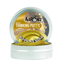 """Crazy Aaron's Thinking Putty Crazy Aaron's Precious Putty 3.5"""" Tins"""
