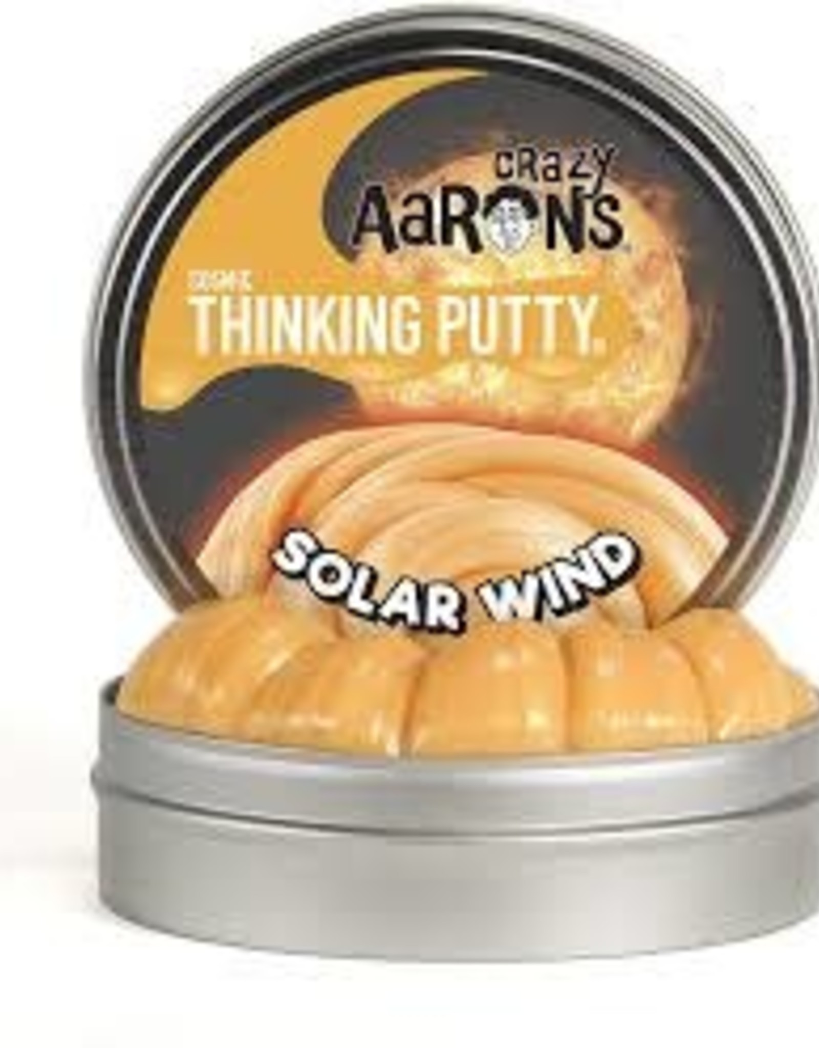 """Crazy Aaron's Thinking Putty Crazy Aaron's Cosmic Putty 4"""" Tins"""