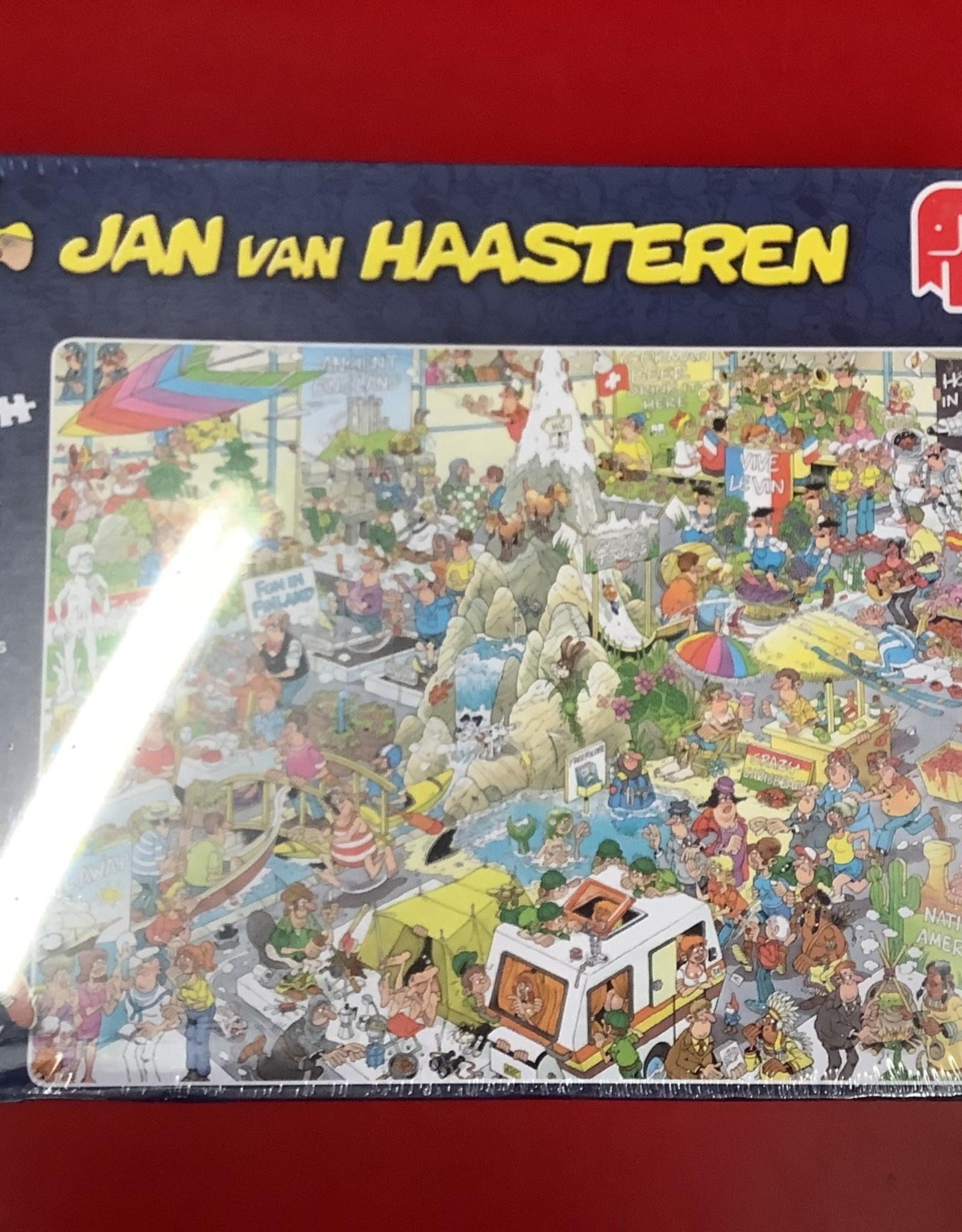 Jumbo LTP Jan Van Haasteren: The Holiday Fair 1000pc