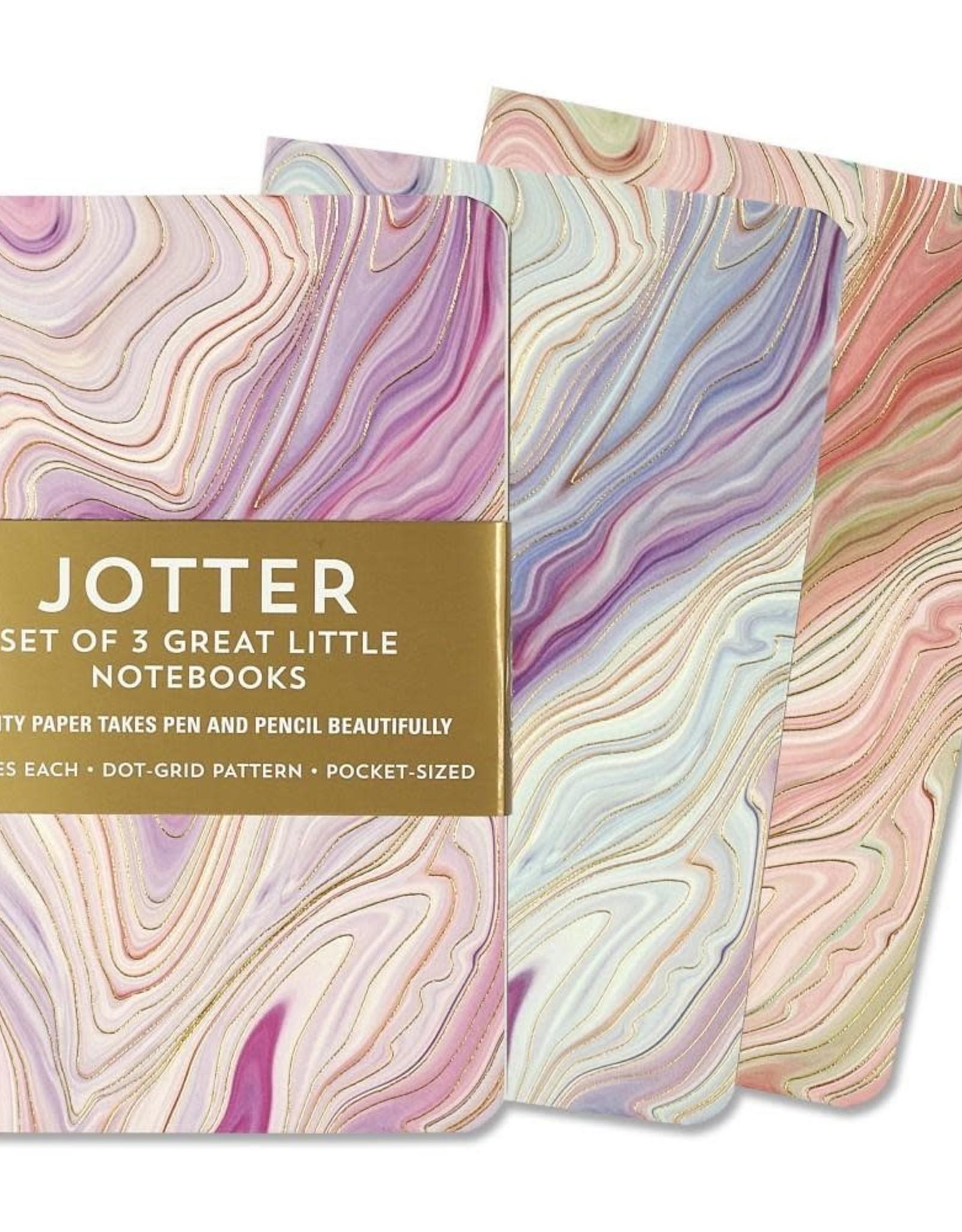 Peter Pauper Press AGATE JOTTER NOTEBOOKS