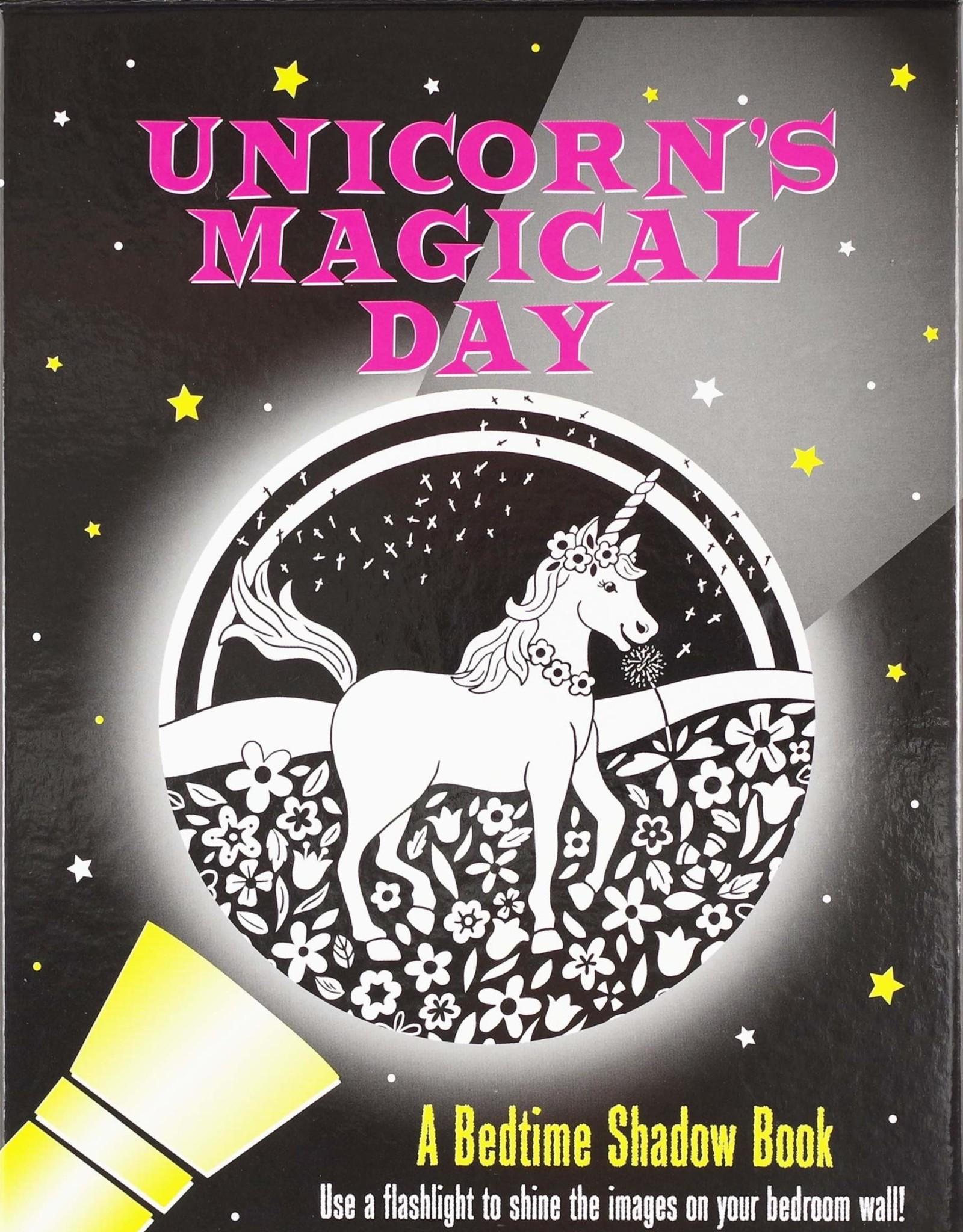 Peter Pauper Press UNICORN'S MAGICAL DAY BEDTIME SHADOW BOOK