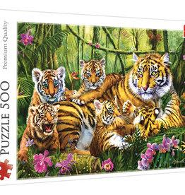 Trefl FAMILY OF TIGERS 500pc