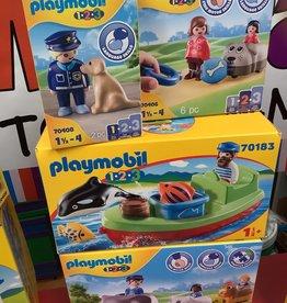 Playmobil 1.2.3 Animal Fundle