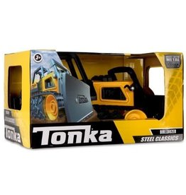 "Tonka 12.5"" STEEL CLASSICS BULL DOZER (2) BL"