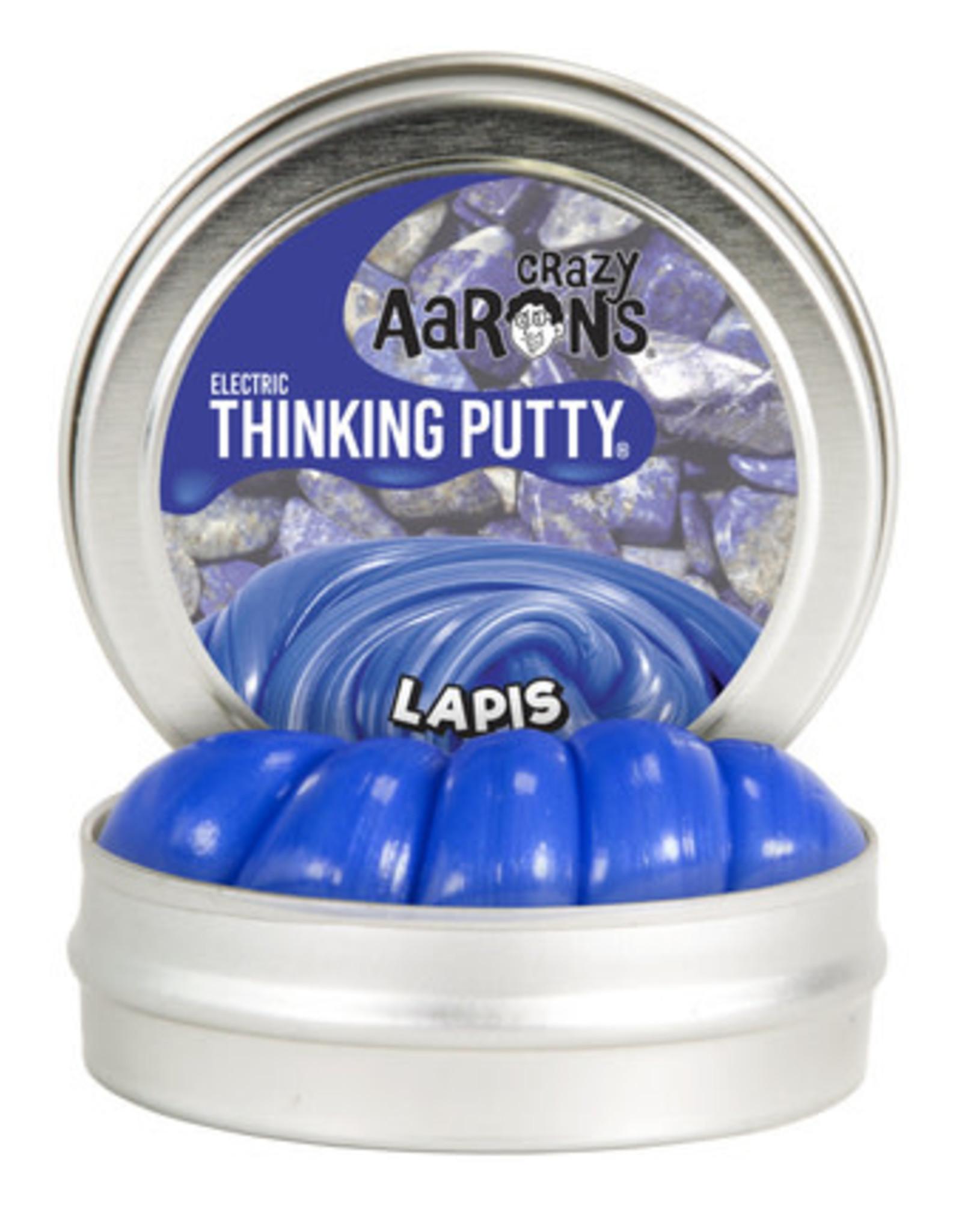 Crazy Aaron's Thinking Putty Crazy Aaron's Mini Tin -  Lapis (Electric)