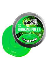 Crazy Aaron's Thinking Putty Crazy Aaron's Mini Tin -  Power Surge (Neon)