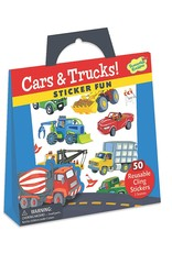 Peaceable Kingdom Cars & Trucks Reusable Sticker Tote
