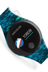 Watchitude Move 2 Watch - Blue Sequins