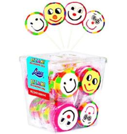 Liwocz Fancy Art Lollipop - Smiley Pattern