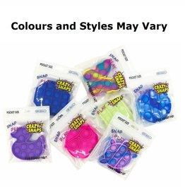 Crazy Snaps Crazy Snaps Pocket Size (Tye Dye)