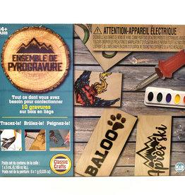 Pako Woodburning Kit
