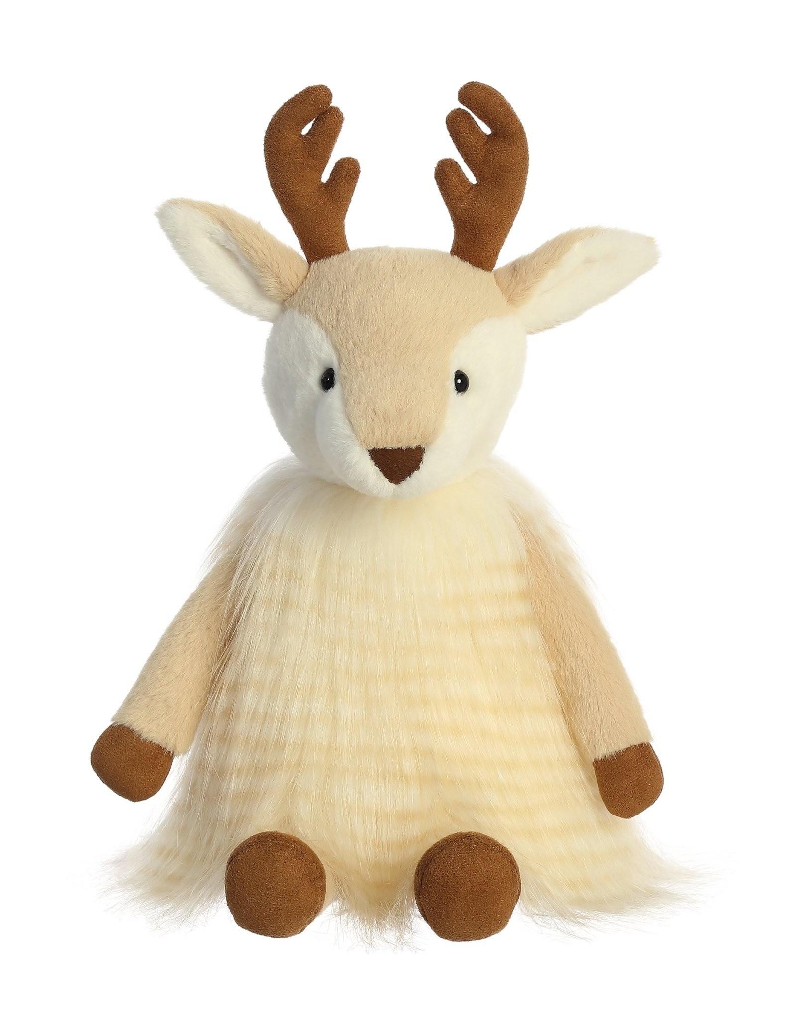 "Aurora Fancifur Deer - Cream 12"""
