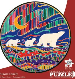 Indigenous Collection by CAP Aurora Family, 500pc Round
