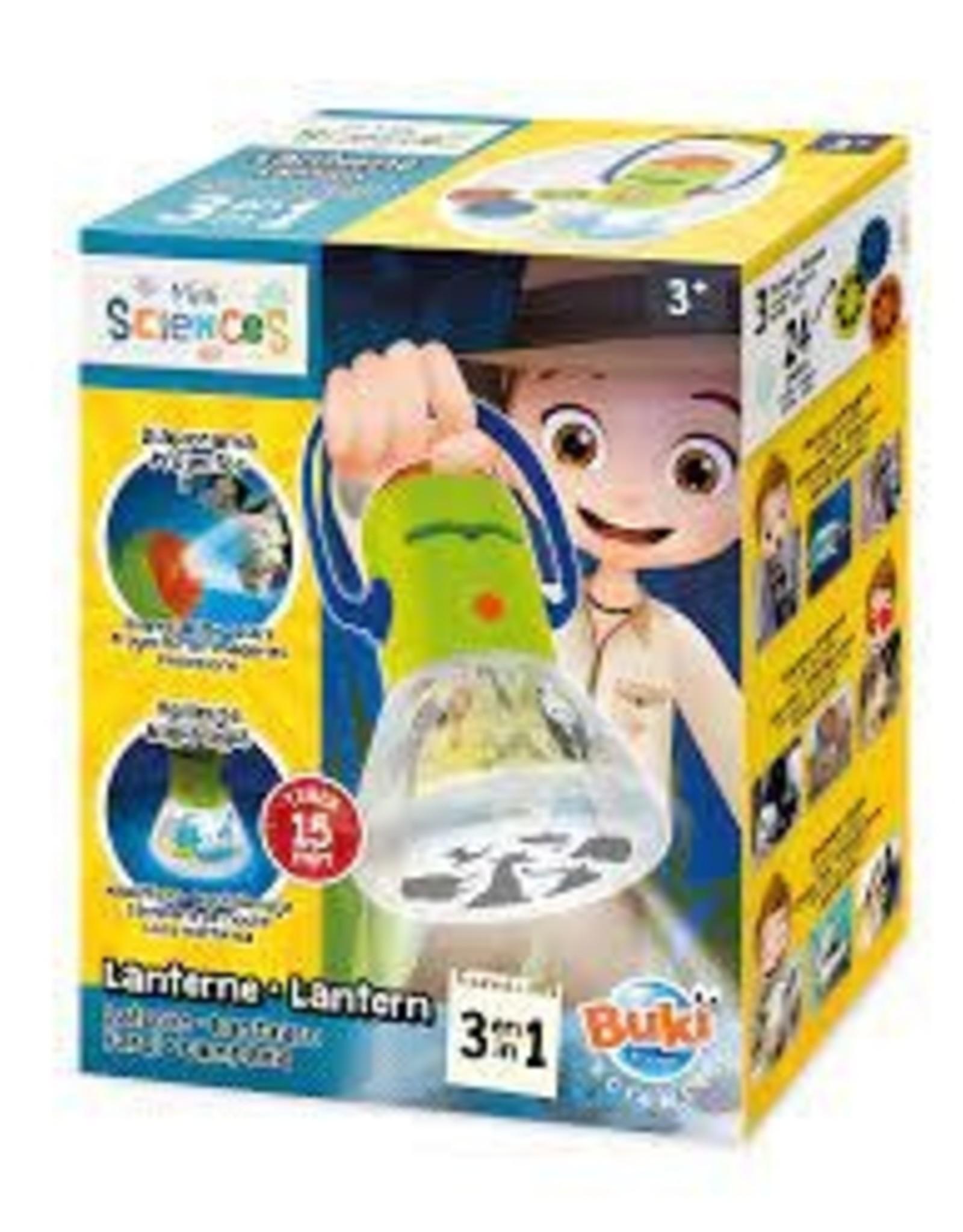 Buki Buki-Mini Science Lantern 3 in 1