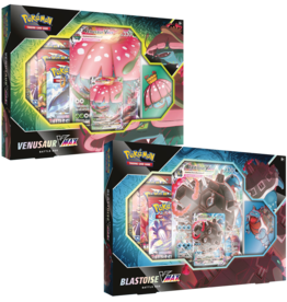 Pokemon Pokemon Venusaur/Blastoise VMAX Battle Box