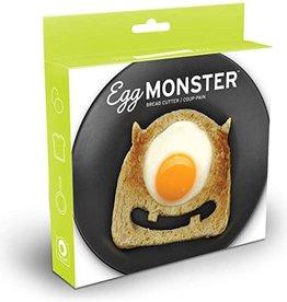 Fred & Friends Egg Monster-Bread cutter