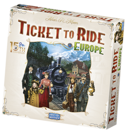 Days of Wonder Ticket to Ride - Europe: 15th Anniversary Edition