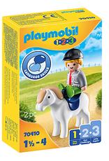 Playmobil 1.2.3. Boy with Pony